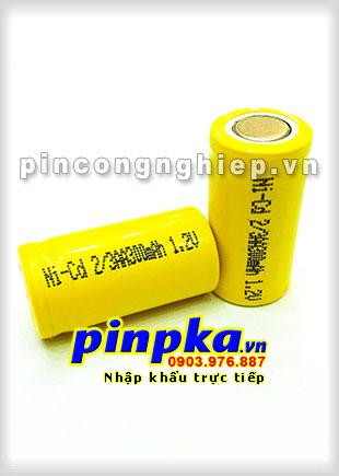 Pin Sạc Công Nghiệp-Pin Cell 1,2v NiCD 2/3AA 300mAh
